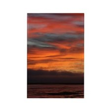 sunset1 Rectangle Magnet