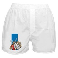 Bucks County Volleyball FPP Boxer Shorts
