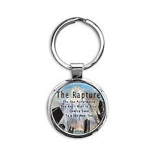 The Rapture Round Keychain