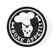 boneappetit8inch Wall Clock