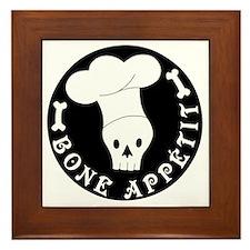 boneappetit8inch Framed Tile