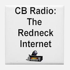 Redneck Internet Tile Coaster