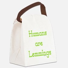 lemming Canvas Lunch Bag