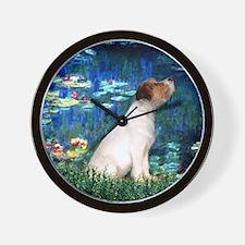 SFP-Lilies5-JRT7-lkup Wall Clock