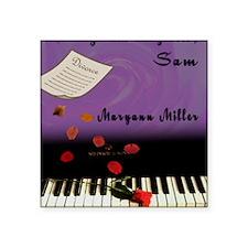 "Maryann Miller Play It Agai Square Sticker 3"" x 3"""