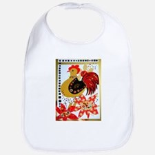 Red Rooster Bib