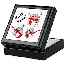 Rock Band Keepsake Box