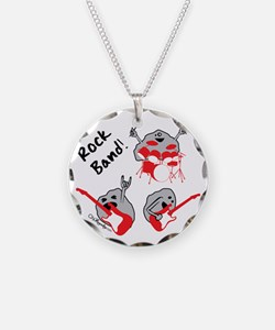 Rock Band Necklace