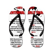 World Tour 3 Flip Flops