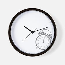 2-likemorningsDrk Wall Clock
