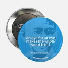 GANDHI - AN EYE FOR AN EYE Button