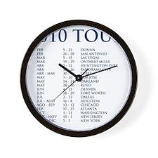 t-shirt_back Wall Clock