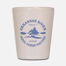 Arkansas River (Royal Gorge) Shot Glass