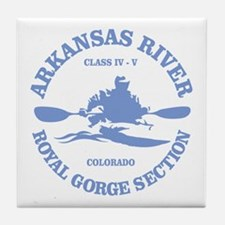Arkansas River (Royal Gorge) Tile Coaster