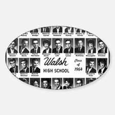 WALSH64 Class-Mousepad Decal