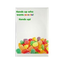 cardSweetsFront Rectangle Magnet