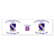 2nd Bn 508th ABN Mug Car Sticker