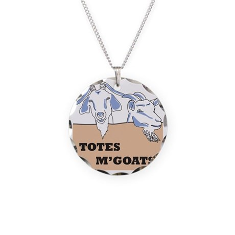 totesfront Necklace Circle Charm