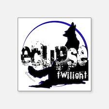 "eclipse big wolf copy Square Sticker 3"" x 3"""