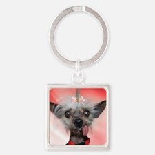 Miss Ellie2 Square Keychain