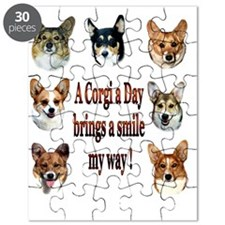 A Corgi a Day Brings a Smile Puzzle