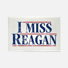 I Miss Reagan, distressed look Magnets