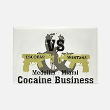 Escobar VS Montana Rectangle Magnet