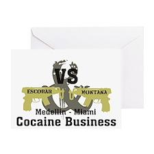 Escobar VS Montana Greeting Card