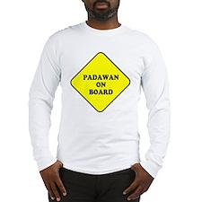 padawan_onboard Long Sleeve T-Shirt
