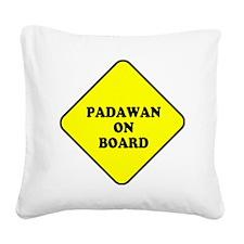padawan_onboard Square Canvas Pillow