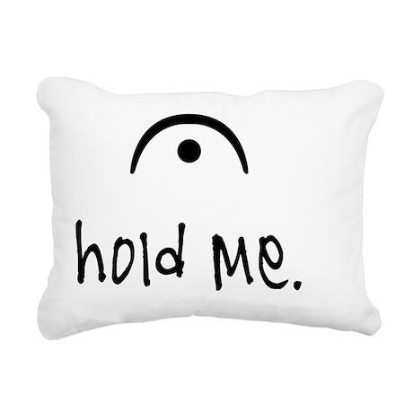 hold me (light) Rectangular Canvas Pillow