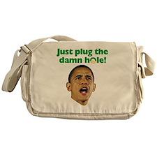 obama_oil Messenger Bag