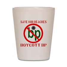 boycottbp_transparent Shot Glass