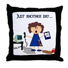 The Scheduler Throw Pillow