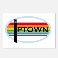 ptown-sticker Postcards (Package of 8)