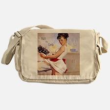 apron1 Messenger Bag