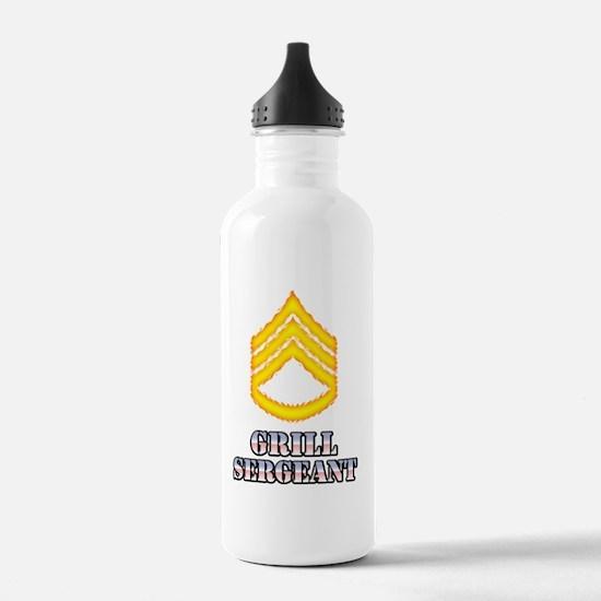 GrillSergeantStripes Water Bottle