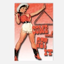come and get it clock1 Postcards (Package of 8)