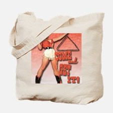 come and get it clock1 Tote Bag