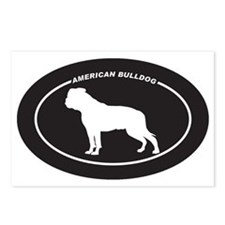 American-Bulldog Postcards (Package of 8)