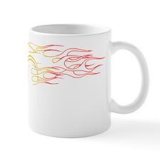 2-W Car R Flames Mug