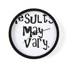 resultsmayvary01 Wall Clock