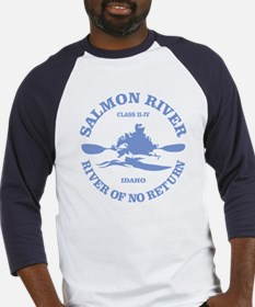 Salmon River (kayak) Baseball Jersey