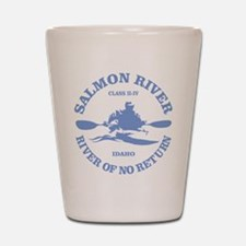 Salmon River (kayak) Shot Glass