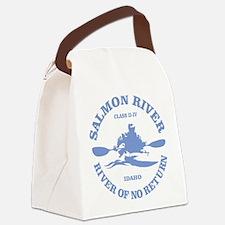 Salmon River (kayak) Canvas Lunch Bag