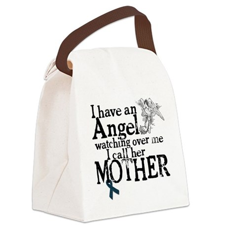 mother angel Canvas Lunch Bag