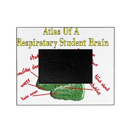 Atlas of Respiratory Student Brain Picture Frame