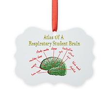 Atlas of Respiratory Student Brai Ornament