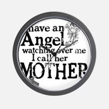 7-mother angel Wall Clock