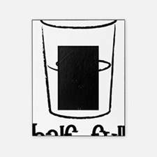 Half-Full-Black Picture Frame